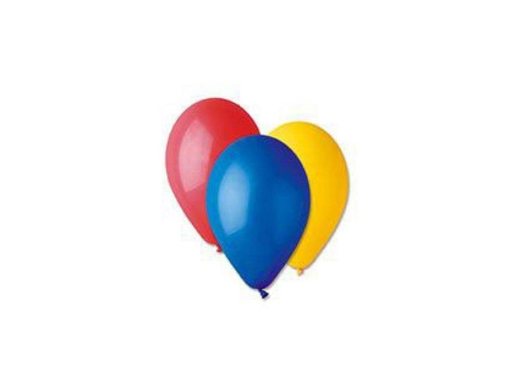 0002818 nafukovaci balonky 21 cm mix barev 100 ks 510
