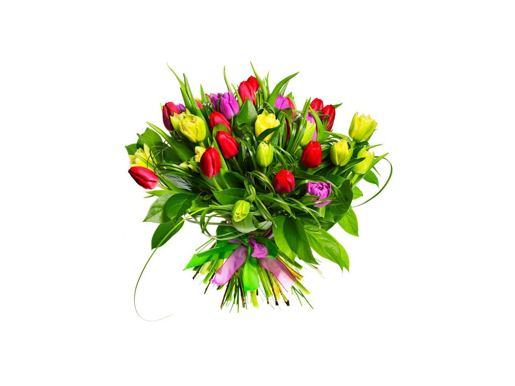 106144 bouquet flowers tulips flower buds p