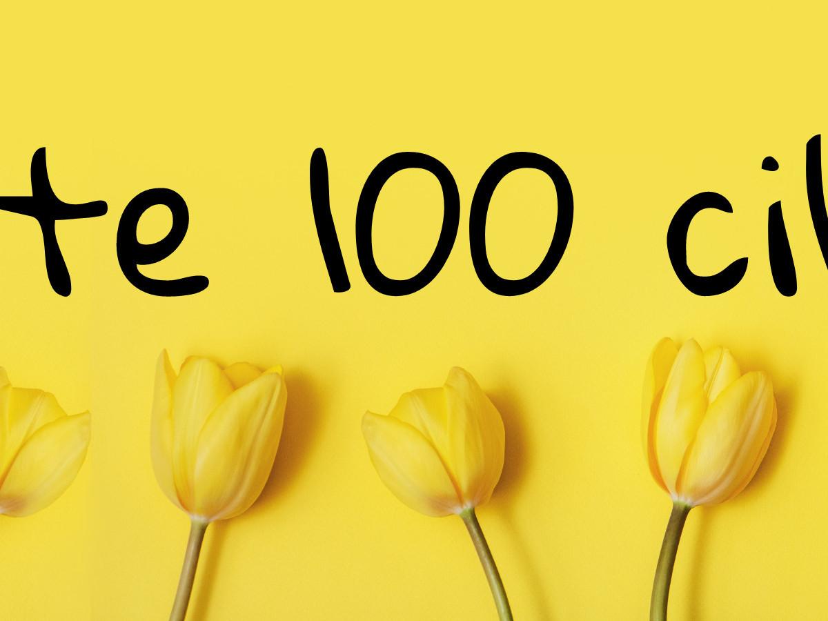100 cibulek zdarma