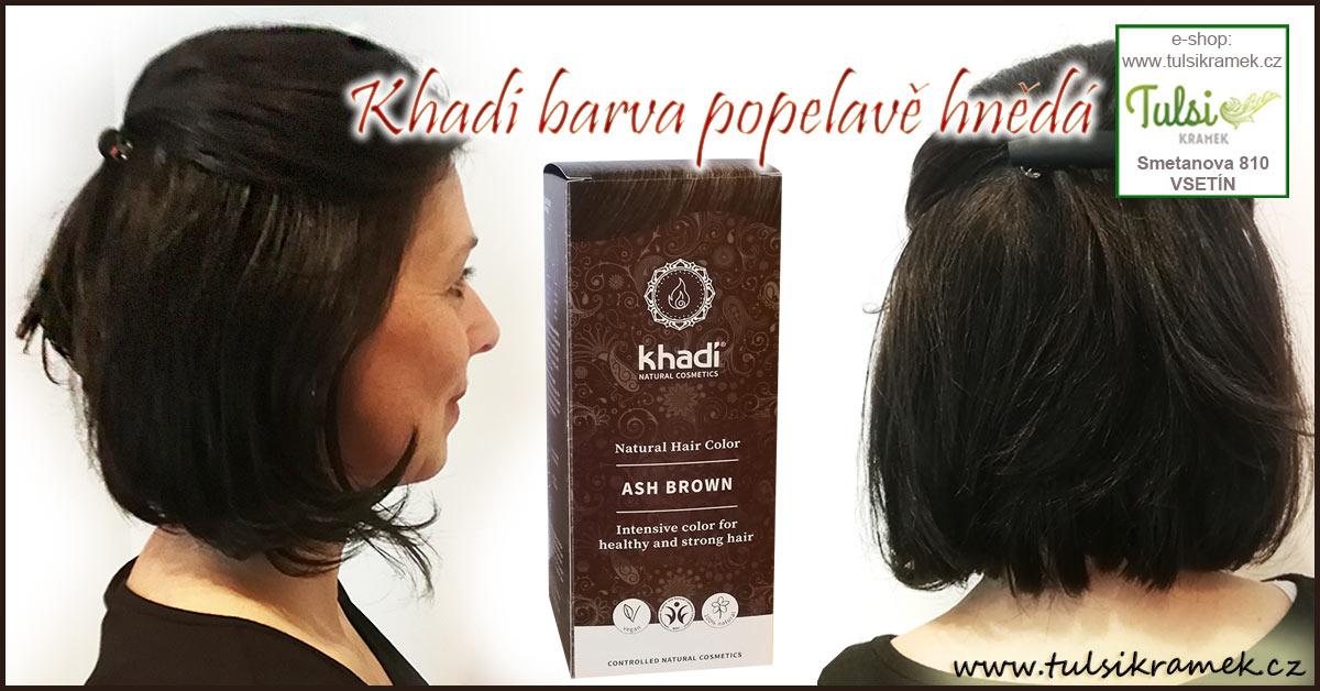 Chcete docílit studené hnědé barvy vlasů přírodní barvou?