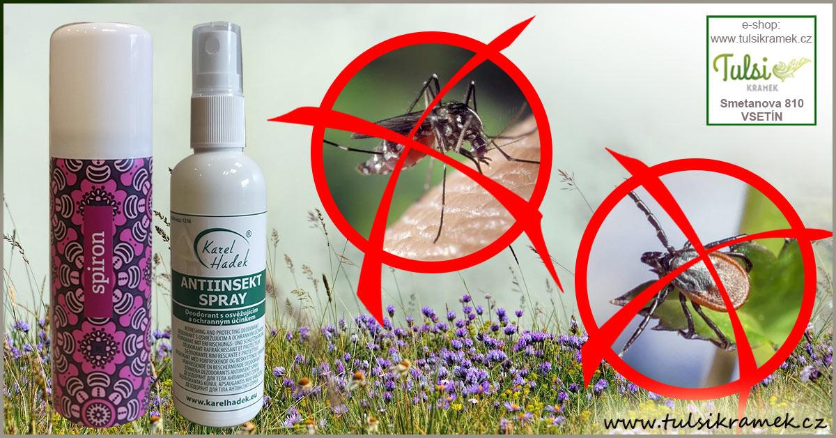 Jak se chránit před klíšťaty a komáry