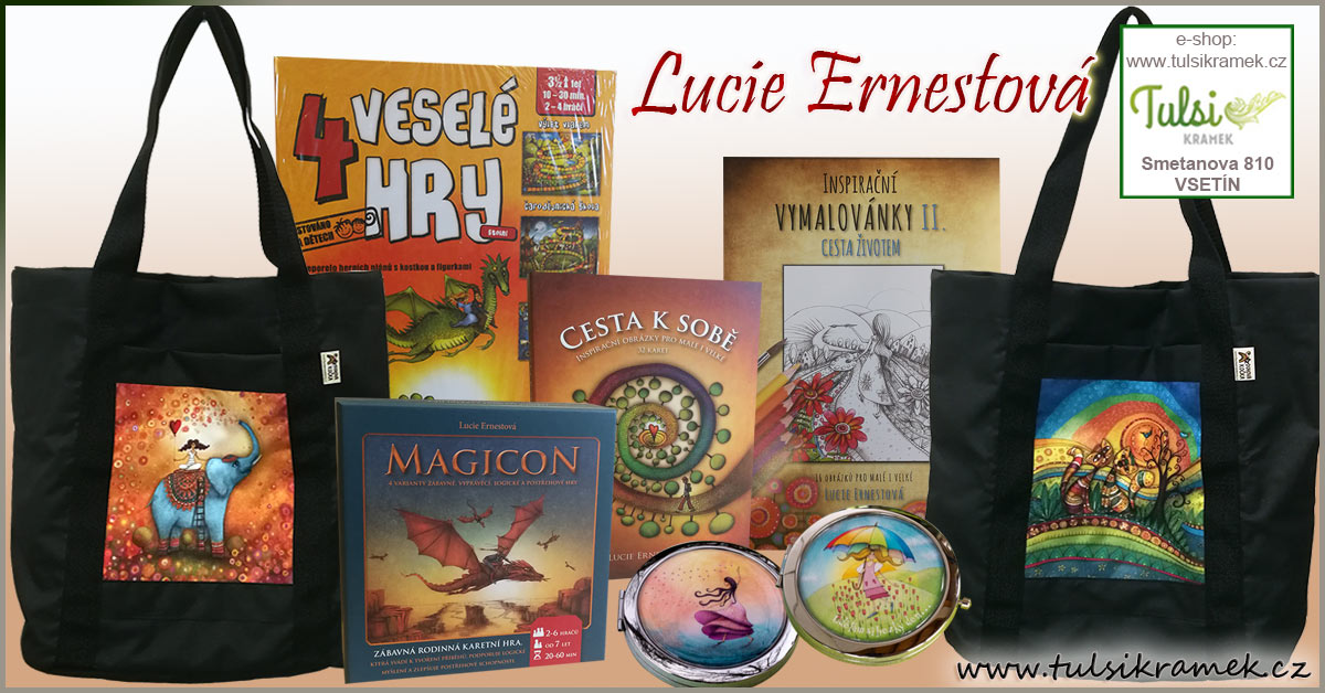 Tipy na dárky od Lucie Ernestové