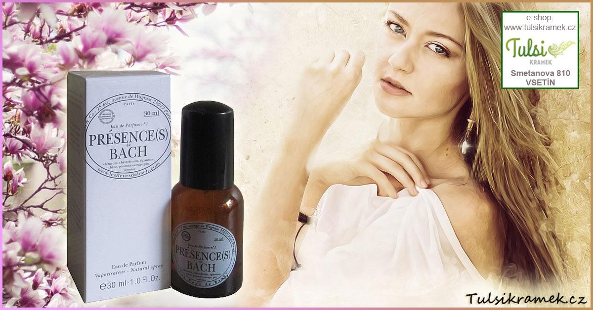 Vůně přírodního parfému pomáhá harmonizovat i emoce
