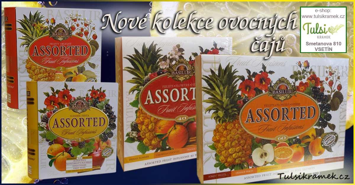 Basilur - kolekce ovocných čajů