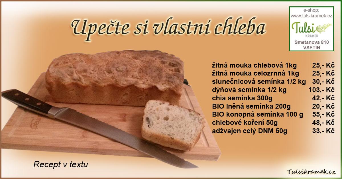 Recept na chleba