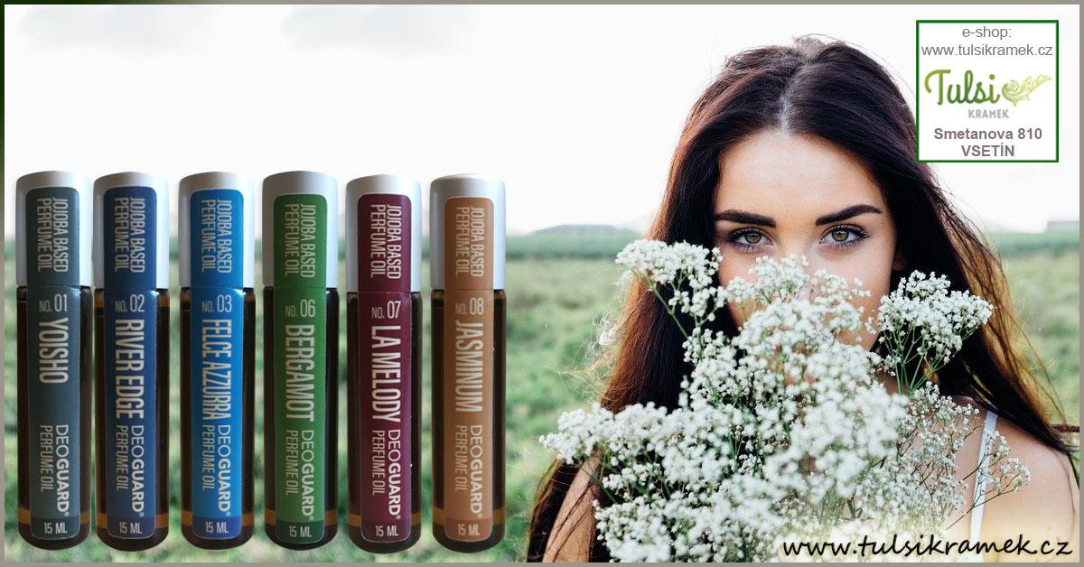 Parfémové oleje značky Deoguard