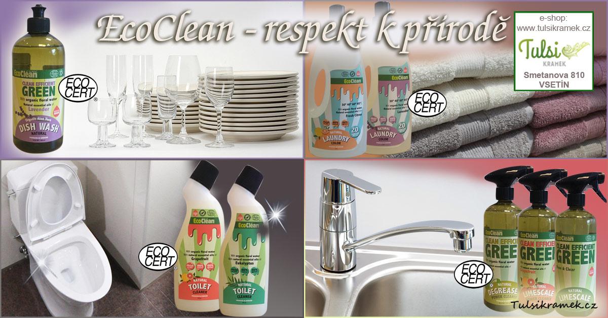 Eco Clean - ekologické čistící prostředky