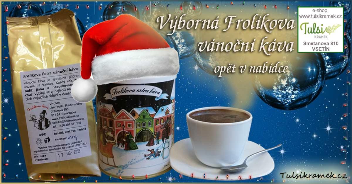 Výborná Frolíkova vánoční káva