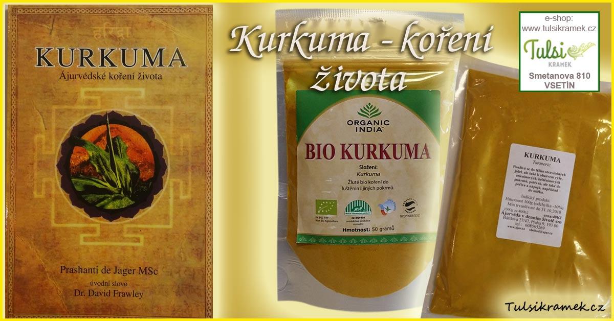 Kurkuma - ajurvédské koření života