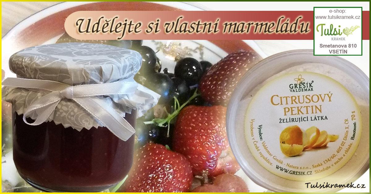 Udělejte si vlastní marmeládu