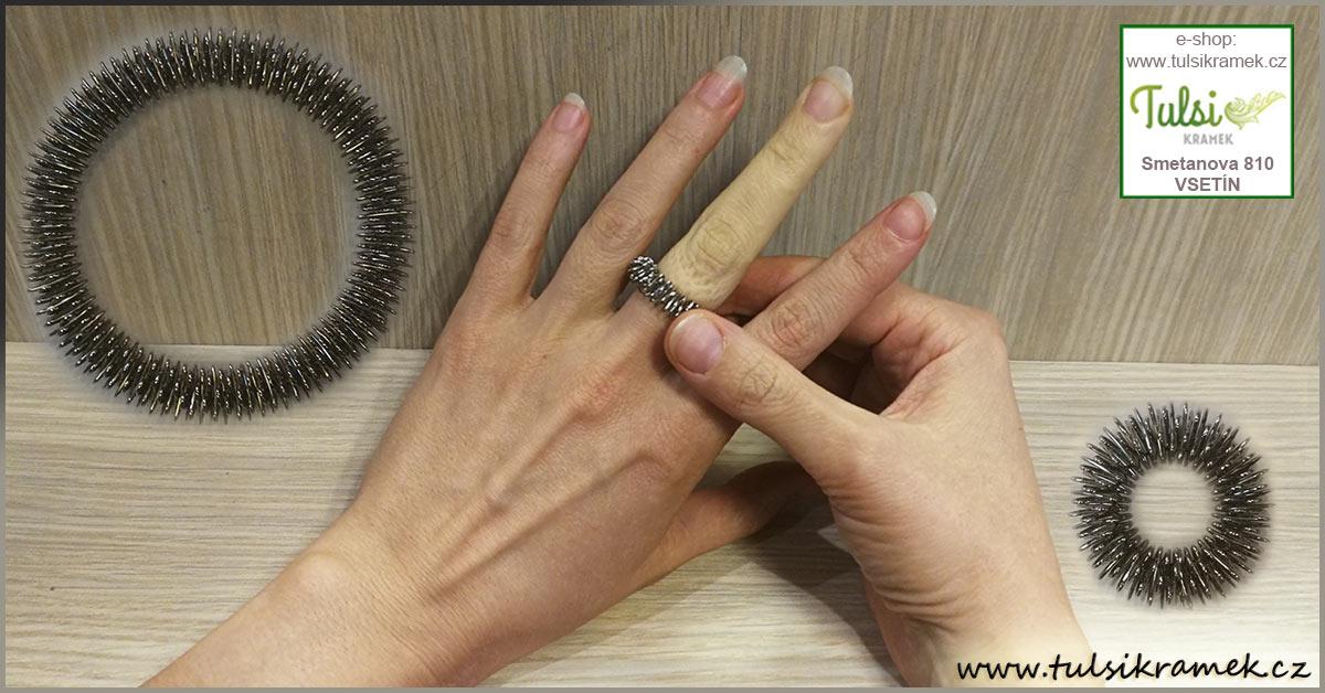Masážní prstýnek a náramek Su Jok