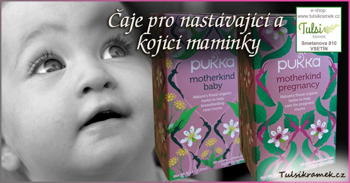 Čaje pro nastávající a kojící maminky