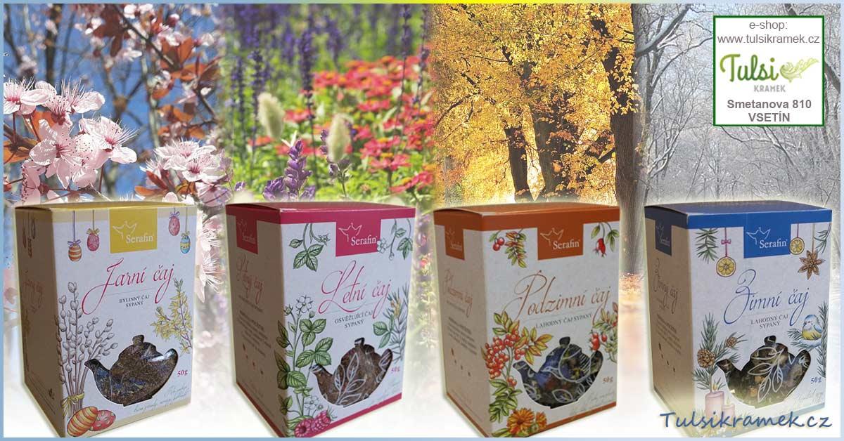 Serafin bylinné čaje pro různé roční období