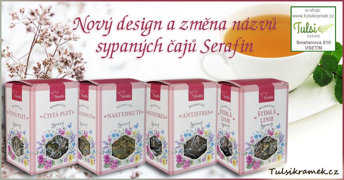 Serafin bylinné čaje sypané
