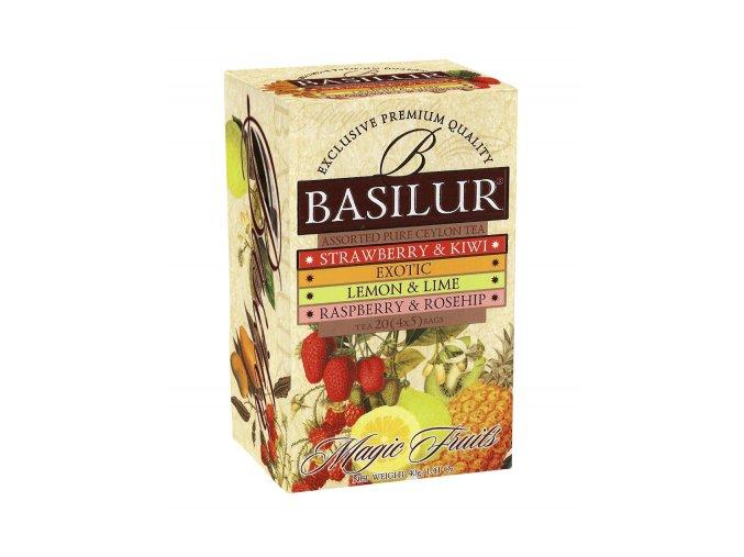 Basilur/ Mag.4x5x2g VARIACE ASSORT černý