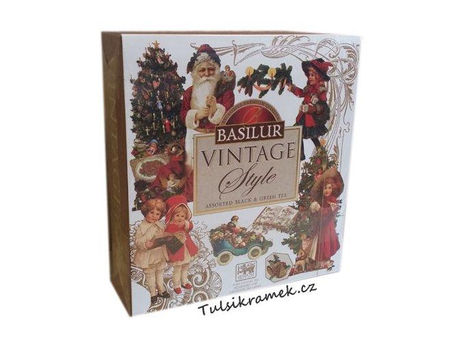basilur vanocni caje vintage darkova kazeta