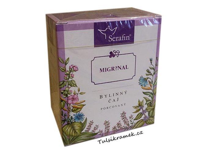 serafin migrenal bylinny porcovany caj