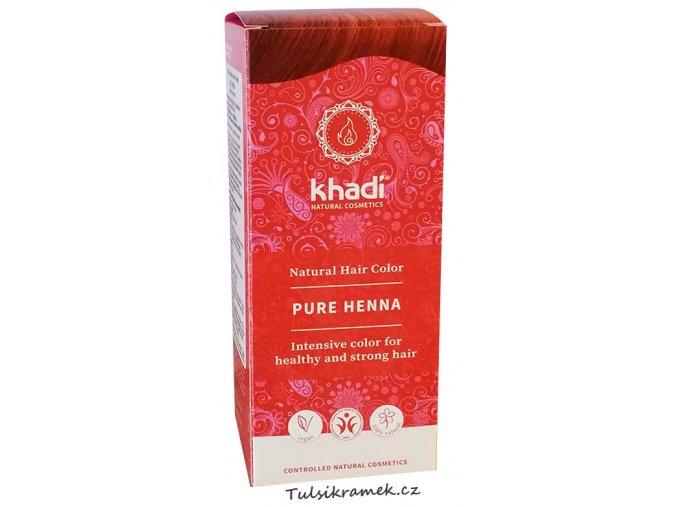khadi prirodni barva na vlasy cista henna