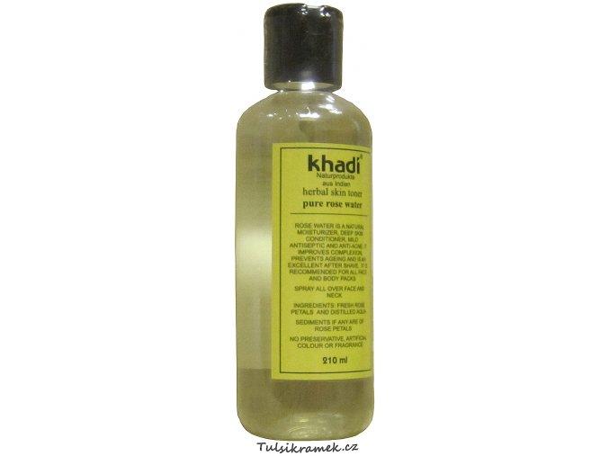 KHADI RŮŽOVÁ VODA 210 ml