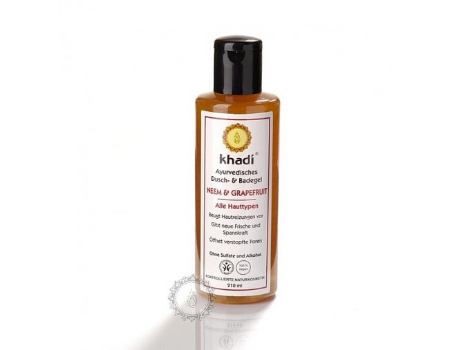 KHADI SPRCHOV GEL NEEM & GRAPEFRUIT 210 ml