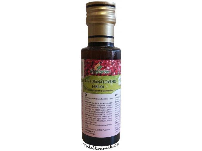 olej z granatoveho jablka biopurus