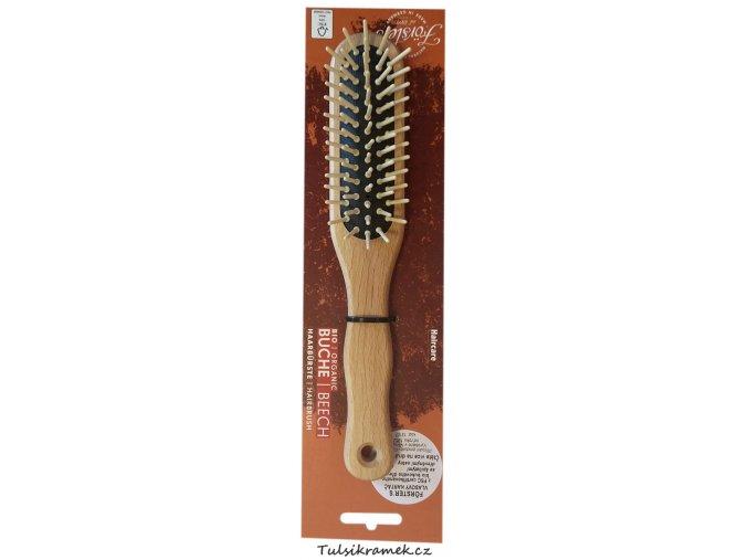 forsters kartac na vlasy se spicatymi ostny ovalny bukove drevo