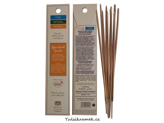 pure natural incense vonne tycinky duchovni pruvodce