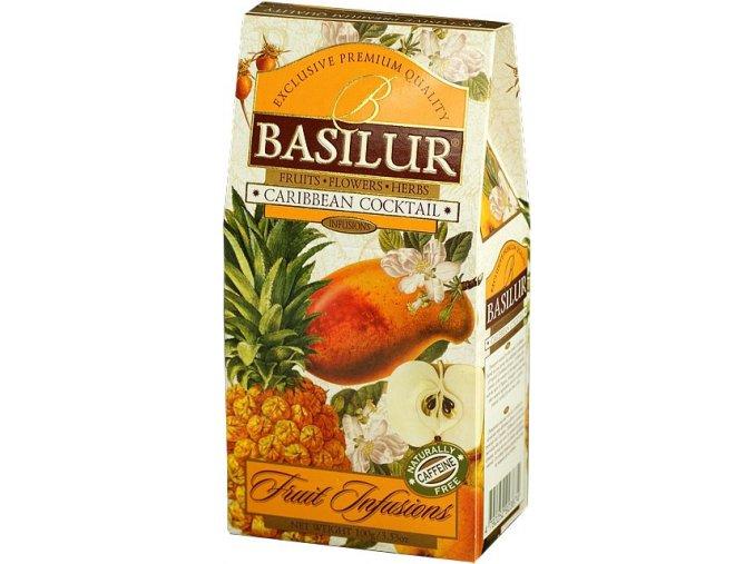 BASILUR OVOCNÝ COCTAIL PAPÍR 100 g