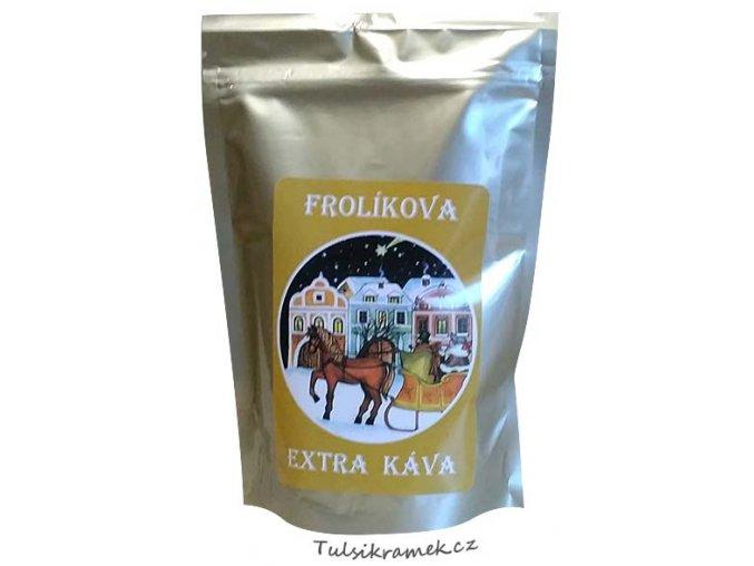 frolikova extra kava vanocni zrnkova