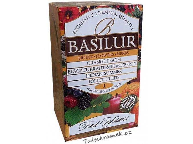basilur fruit infusions volume 1 směs ovocnych caju