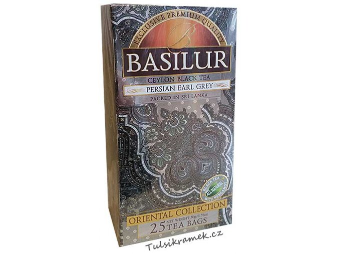 basilur orient persian earl grey porcovany neprebalovany