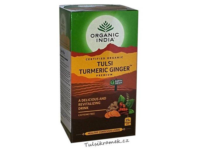 organic india tulsi kurkuma zázvor
