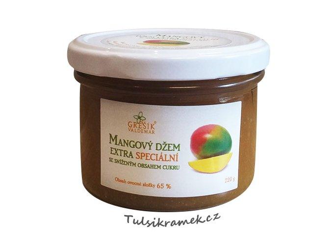 gresik mangovy dzem se snizenym obsahem cukru