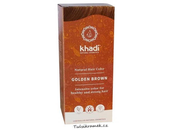 khadi prirodni barva na vlasy zlata hneda