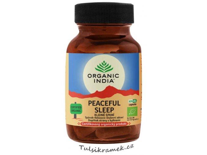 organic india peaceful sleep klidne spani kapsle