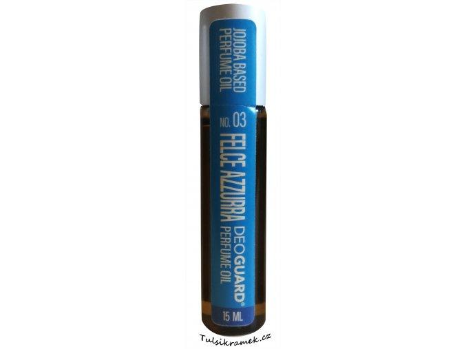 deoguard parfemovy olej felce azzurra roll on