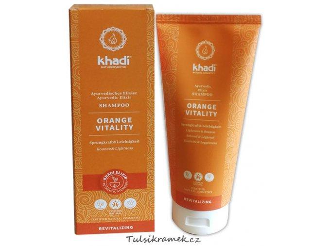 khadi elixir sampon pomeranc