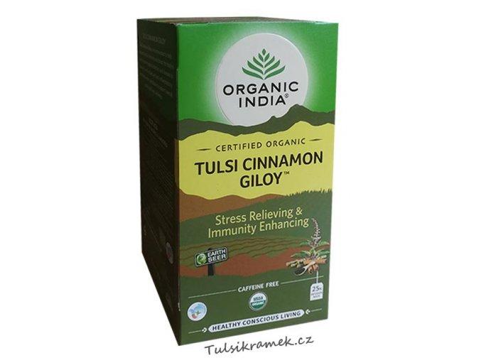 organic india tulsi se skorici a amritou