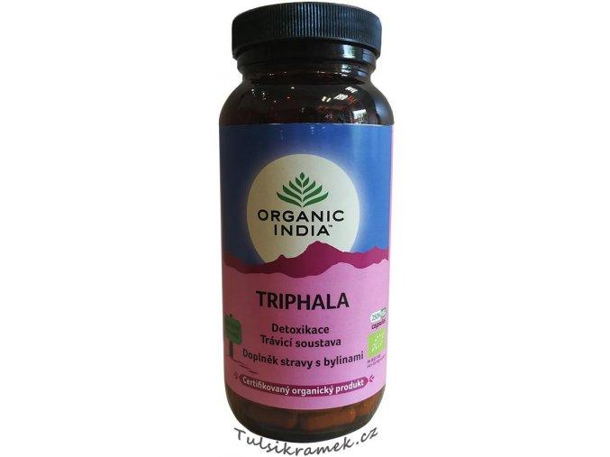 organic india kapsle triphala