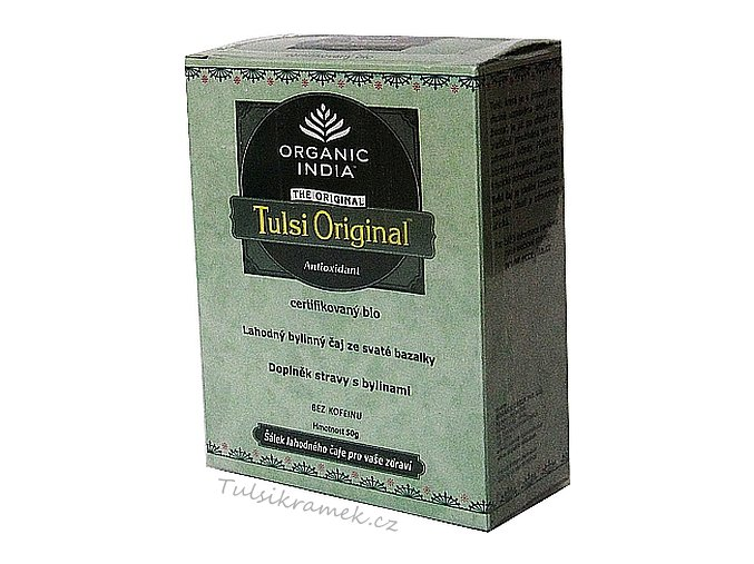 TULSI ORIGINAL TEA SYPANÝ 50g