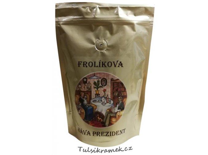 frolikova kava prezident zrnkova
