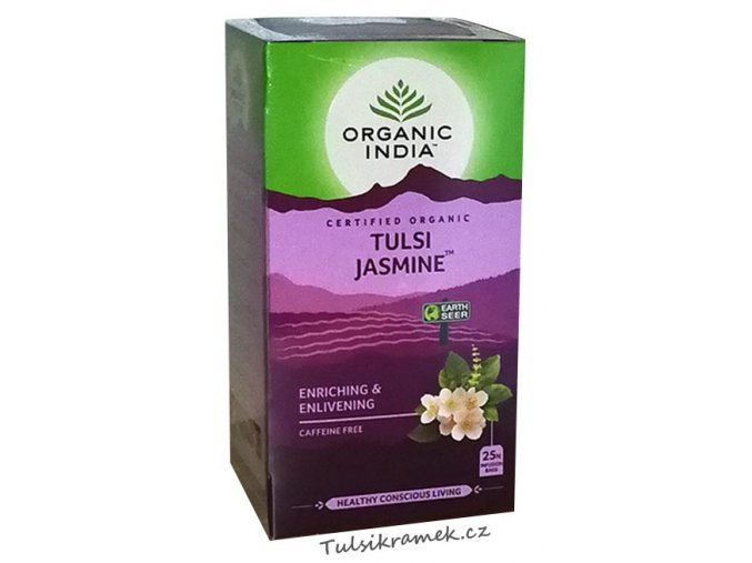organic india tulsi jasmine