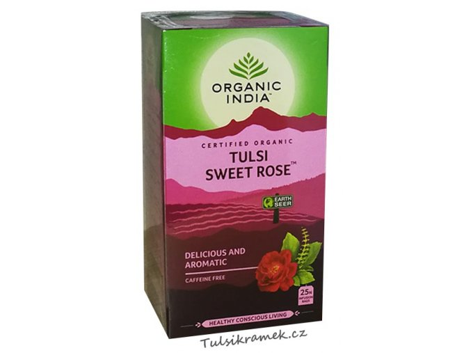 organic india tulsi sladka ruze