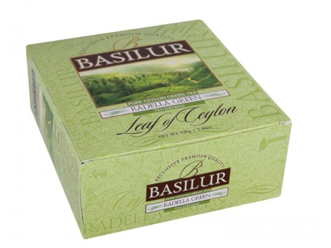 BASILUR LEAF OF CEYLON RADELLA 100x1,5g nepřebalovaný