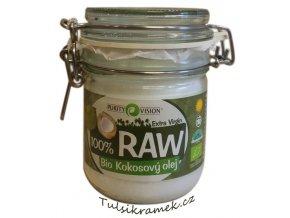 purity vision raw kokosovy olej 300ml