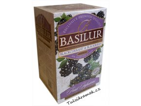 basilur ovocny caj cerny rybiz a ostružina blackcurrant and blackberry
