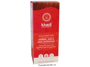 khadi prirodni barva na vlasy henna amla jatropha