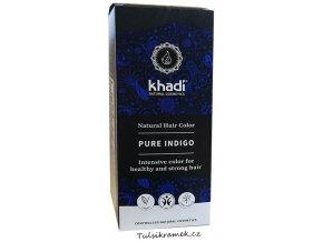 khadi prirodni barva na vlasy indigo