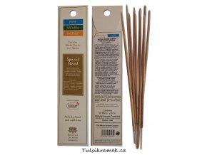 pure natural incense vonne tycinky duch dreva