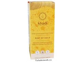 khadi prirodni barva na vlasy zlaty preliv